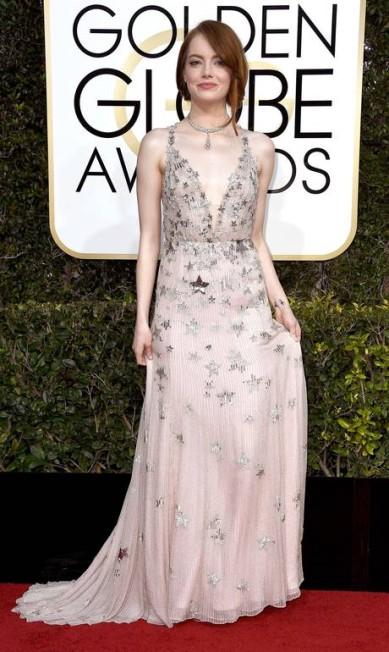 A atriz Emma Stone, de Valentino Frazer Harrison / AFP