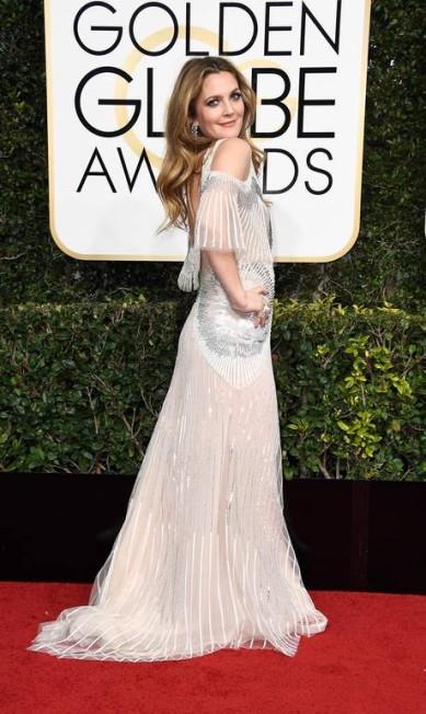 A atriz Drew Barrymore Frazer Harrison / AFP