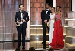 "Damien Chazelle: melhor diretor por ""La La Land"" Foto: Paul Drinkwater / AP"