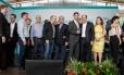 Michel Temer entregou ambulâncias a prefeitos do Rio Grande do Sul