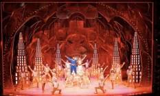 Cena de Aladdin, que está na Brodway Week Foto: NYCGo