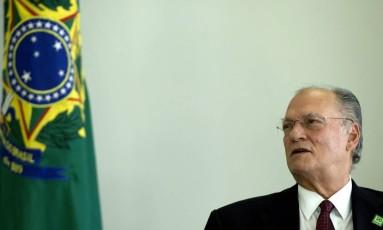 Roberto Freire, ministro da Cultura Foto: Jorge William / Agência O Globo