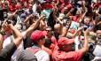 Crise fiscal. Protesto de servidores no Rio: dinheiro do novo fundo servirá para pagar salários atrasados