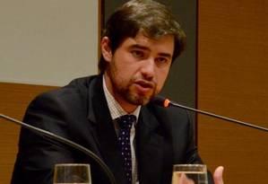 Alexander Araujo de Souza, promotor do Grupo de Combate ao Crime Organizado (Gaeco) Foto: Divulgação