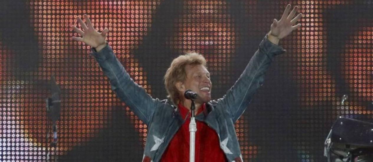 Bon Jovi é uma das atrações confirmadas na próxima edição do festival Foto: Ivo Gonzalez / Agência O Globo