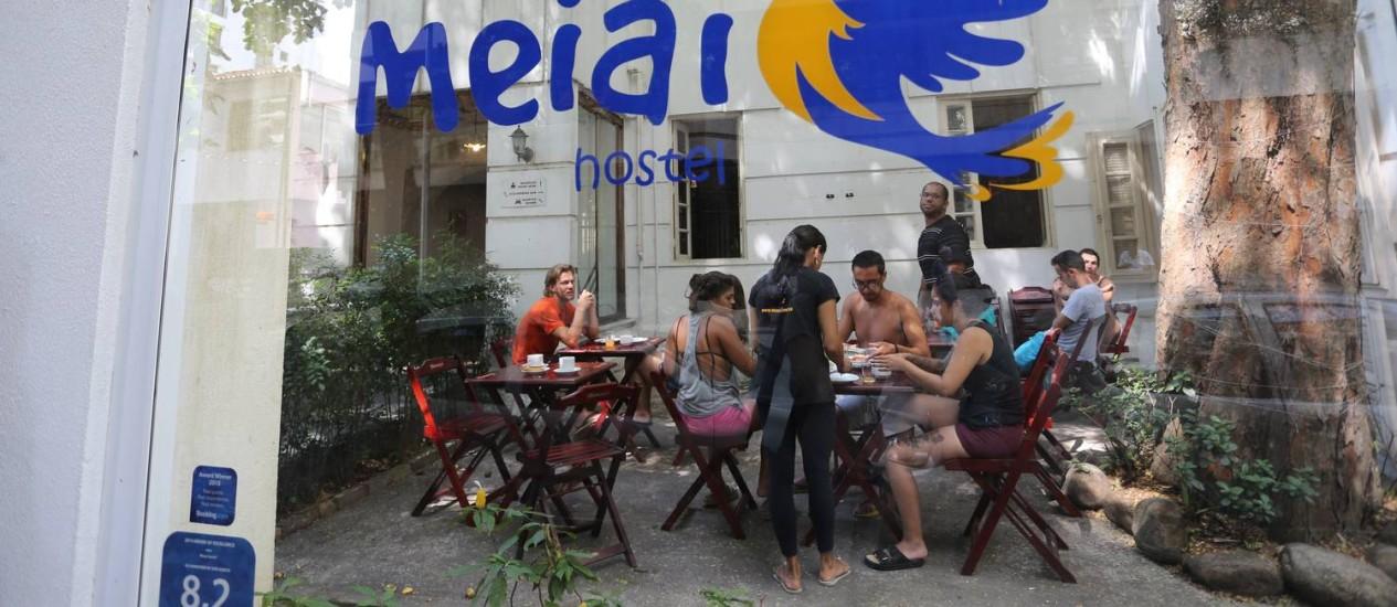 Hóspedes de hostel em Botafogo são assaltados Foto: Márcia Foletto / O Globo