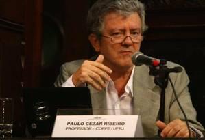O professor da Coppe Paulo Cezar Ribeiro Foto: Divulgação