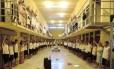 Culto religioso na Unidade de Tratamento Penal de Barra da Grota, em Araguaína (TO)