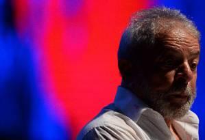 O ex-presidente Lula Foto: Andressa Anholete / AFP