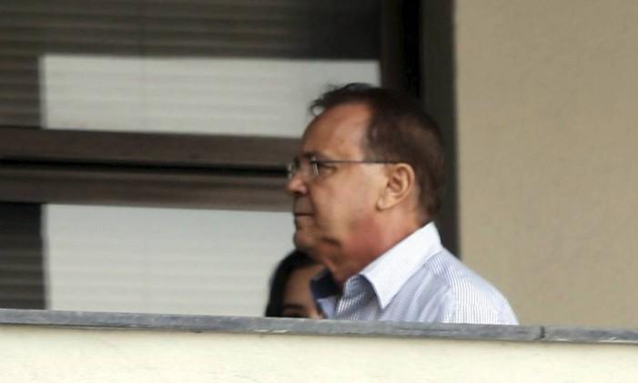 Hudson Braga, ex-secretário estadual de Obras no governo de Sérgio Cabral, é preso Foto: Marcelo Carnaval / Agência O Globo/17-11-2016