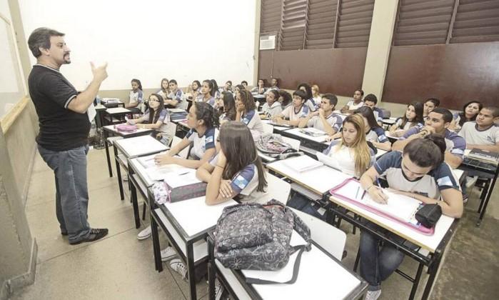 Termina hoje prazo de pré-matrícula para escolas estaduais