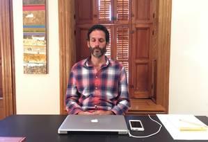 André Elkind criou a Mantri e leva a meditação a ambientes corporativos Foto: Divulgação