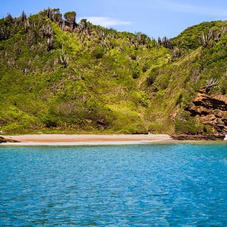 Praia dos amores, em Búzios, um dos destinos mais procurados por cariocas Foto: Divulgação