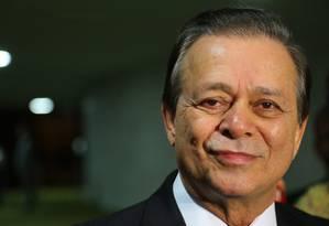 O deputado Jovair Arantes (PTB-GO) no plenário da Câmara Foto: Ailton de Freitas / Agência O Globo