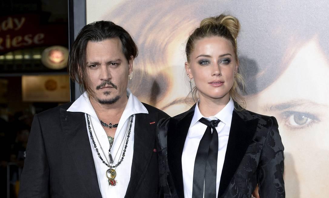 Johnny Depp e Amber Heard Foto: Reuters