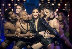 Fernanda Lima no programa 'Amor & Sexo' Foto: Divulgação