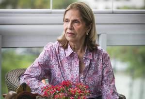 Pesa no bolso. Aos 78 anos, Ana Maria briga na Justiça parar reduzir a mensalidade de R$ 4.500 do plano de saúde Foto: Guito Moreto / Guito Moreto