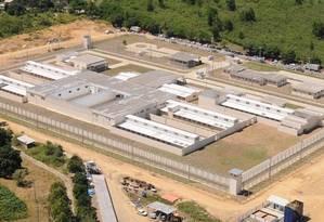 Prisão Regional de São Mateus, no norte do ES: uma das unidades construídas para a redução do déficit de vagas em presídios capixabas Foto: Divulgação/Sejus-ES