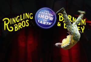 Ringling Bros. and Barnum & Bailey vai fechar após 146 anos de atividade Foto: Chris O'Meara / AP