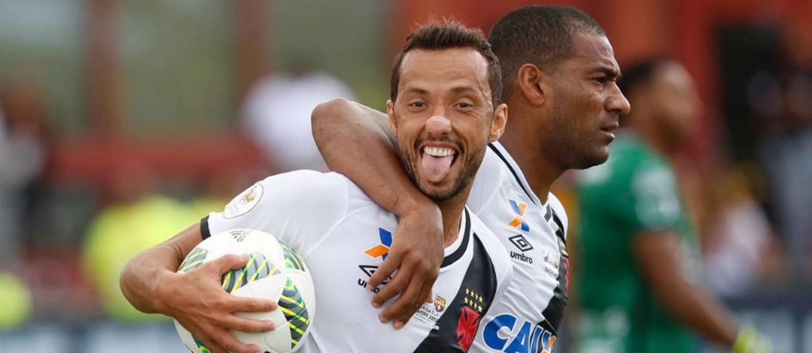 Nenê fez o primeiro gol do Vasco em 2017, em uma cobrança de pênalti Foto: Rafael Ribeiro/Florida Cup