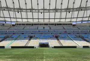 O estádio do Maracanã Foto: Guito Moreto
