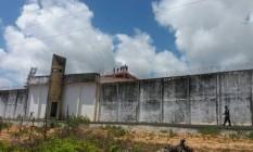 Presos continuam no telhado da prisão onde 26 foram mortos no RN Foto: Divulgação