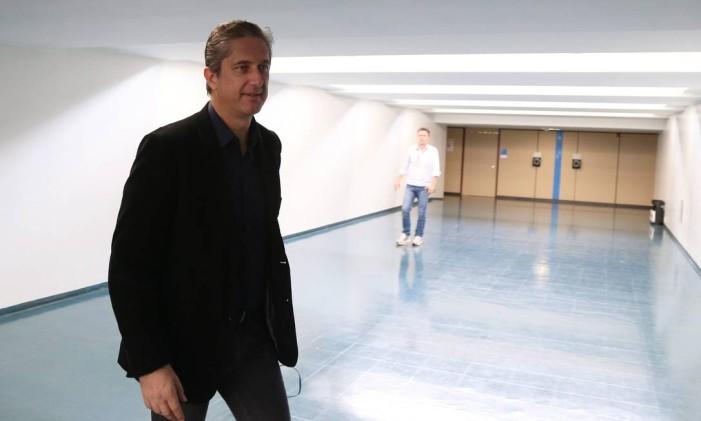 O deputado Rogério Rosso (PSD-DF) nos corredores da Câmara Foto: Ailton de Freitas / Agência O Globo