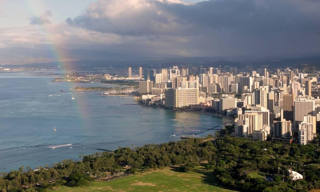 Barack Obama deixa a presidência dos Estados Unidos no próximo dia 20 de janeiro, depois de oito anos no posto mais importante do mundo. O primeiro presidente negro da nação nasceu em Honolulu, capital do estado do Havaí, em 4 de agosto de 1961 Foto: Divulgação