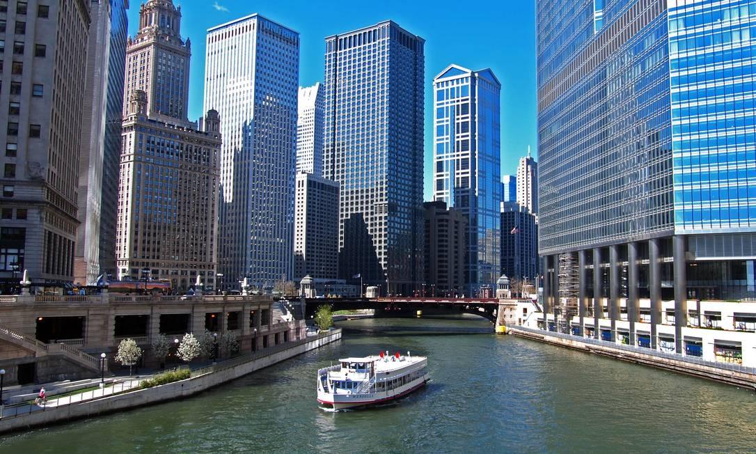 Obama começou sua carreira política no estado de Illinois, onde foi eleito para o Senado pela primeira vez em 1996. Na foto, a maior cidade do estado, Chicago. Foto: Divulgação