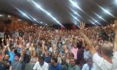 Policiais civis aprovam paralisação em assembleia Foto: Diculgação/Sindpol