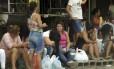 Parentes de presos são impedidos de entrar nos presídeos Foto: Gabriel de Paiva / Agência O Globo