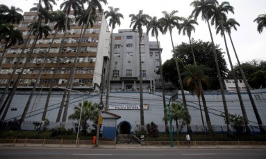 Fachada do Hospital Central da PM (11/09/2015) Foto: Rafael Moraes/Agência O GLOBO