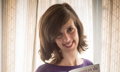 A escritora e roteirista mineira Gisele Mirabai Foto: Divulgação