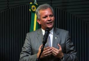 O deputado André Figueiredo (PDT-CE), evento na Câmara Foto: Billy Boss/Câmara dos Deputados/13-12-2016