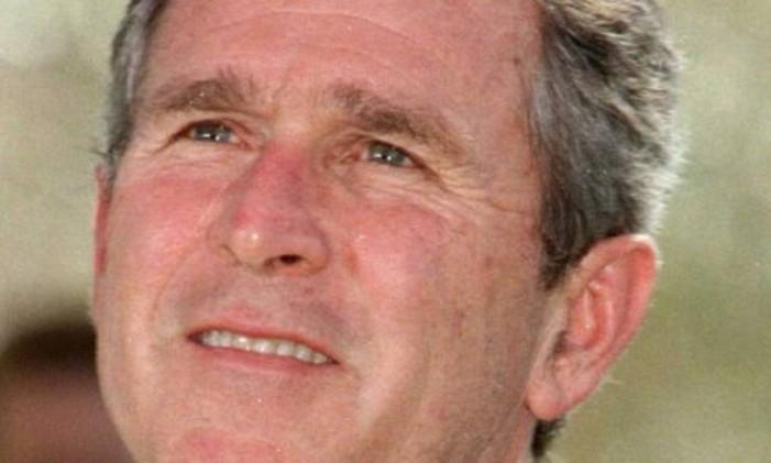 Ex-presidente Bush na época em que ainda era governador do estado do Texas. Foto: Laura Camden / Reuters