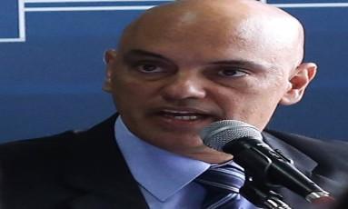 O ministro da Justiça, Alexandre de Moraes, se reúne com secretários estaduais de Justiça, Segurança e Assuntos Penitenciários Foto: Jorge William / Agência O Globo