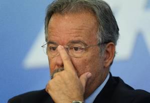Raul Jungmann, ministro da Defesa, durante coletiva no Palácio do Planalto, em Brasília Foto: ANDRESSA ANHOLETE / AFP