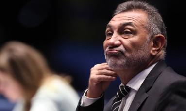 O senador Telmário Mota (RR) Foto: Jorge William / Agência O Globo