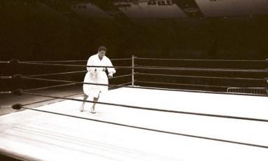 Muhammad Ali em foto de arquivo Foto: Reprodução