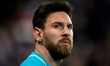 Messi disse que ficará no Barcelona o tempo que o clube quiser Foto: REUTERS/Vincent West