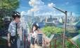 Cena do anime 'Your name' Foto: Reprodução