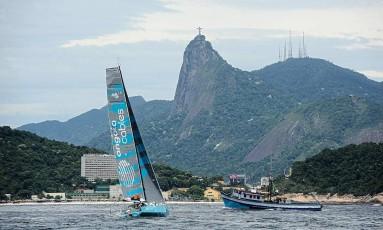 O Mussulo 40 foi o quarto ao chegar ao Rio de Janeiro na regata Cape2Rio Foto: Publius Vergilius/Divulgação