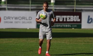 Marcos Júnior disse que as novas contratações vão ajudar muito o Fluminense Foto: NELSON PEREZ/FLUMINENSE
