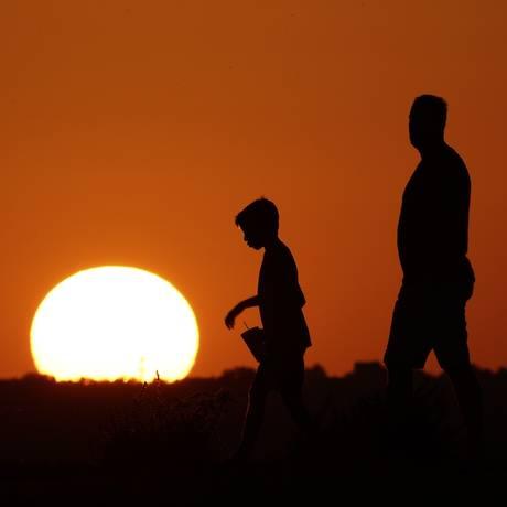 El Niño e aquecimento global contribuíram para a marca Foto: Charlie Riedel / AP