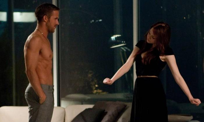 Ryan Gosling e Emma Stone em cena de 'Amor à toda prova' Foto: Reprodução