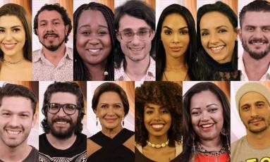 Participantes do 'BBB 17' Foto: Reprodução
