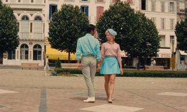 Cena de 'Duas garotas românticas' Foto: Reprodução
