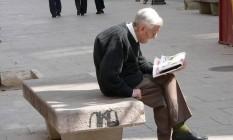 Estudo recomenda que idosos levantem a cada 20 minutos Foto: Free Images