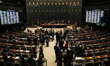 Plenário da Câmara dos Deputados Foto: Ailton de Freitas/8-11-2016