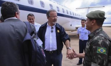 O governo federal planeja empregar cerca de mil militares nas vistorias que serão realizadas nos presídios. Foto: Jorge William / Agência O Globo